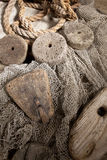 Cork and rope Royalty Free Stock Photography