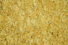 Cork. The rough and rustic texture of cork bark used in making bulletin board Royalty Free Stock Images