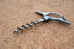 Cork screw Royalty Free Stock Image