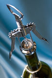 Cork Screw. Opening Wine Royalty Free Stock Images