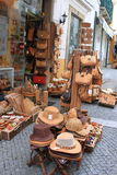 Cork souvenirs in Evora Portugal Stock Photos