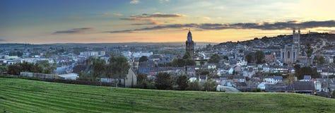 Cork Stad Royalty-vrije Stock Afbeeldingen
