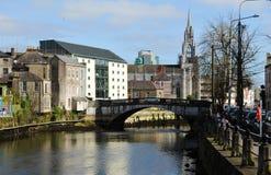 Cork Stad royalty-vrije stock foto
