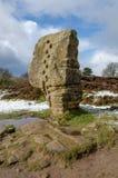 Cork Stone bei Stanton Moor stockfotos
