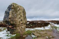 Cork Stone in Stanton Moor royalty-vrije stock afbeelding