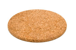 Cork table coaster Royalty Free Stock Photography
