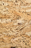 Cork texture. background. Closeup Royalty Free Stock Image