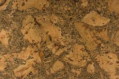 Cork textuur Royalty-vrije Stock Foto