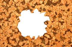 Cork Tile Background Stock Photo