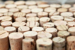 Cork tops background Royalty Free Stock Images