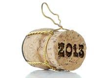 Cork van Champagne Stock Afbeeldingen