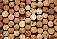 Cork van de wijn Royalty-vrije Stock Foto's