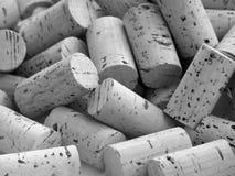 Cork van de wijn Stock Afbeeldingen