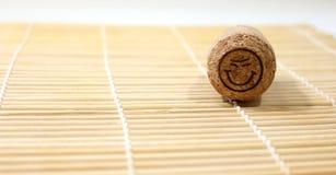 Cork van wijn Stock Afbeelding