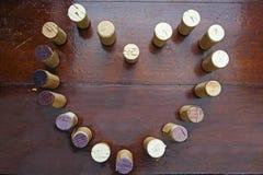 Cork wijn Royalty-vrije Stock Afbeelding
