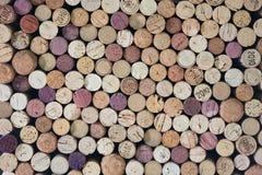 Cork wijnglb inzameling Stock Foto's