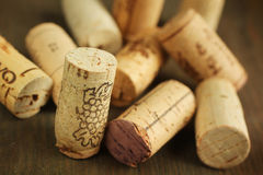 Cork wine Stock Photography