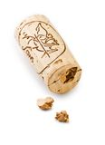 Cork of wine bottle Stock Photos