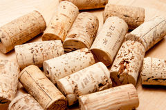 Cork of a wine bottle royalty free stock photos