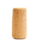 Cork. Wine cork isolated on white background Royalty Free Stock Photography