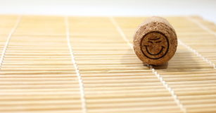 Cork from wine Stock Image