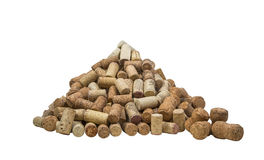 Cork for wine. Used for wine corks from the bark of the tree. production of wine and champagne stock image