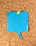 corkboard纸张 免版税库存图片