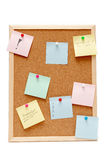 Corkboard Fotos de Stock Royalty Free