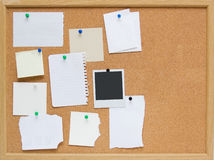 corkboard Photo libre de droits