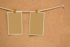 corkboard Royaltyfri Fotografi