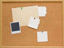 corkboard Arkivfoto
