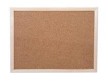 Corkboard en blanco Fotos de archivo