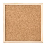 Corkboard isolated on white background Stock Photography