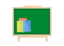 Corkboard memo note business concept isolate Stock Photo