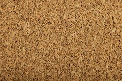 Corkboard texture with a large grain Stock Photography
