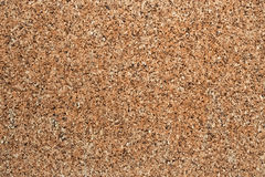 Corkboard texture. Wall made of soft cork brown and dark Royalty Free Stock Photography