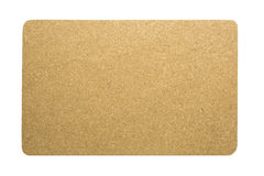 Corkboard in a white background Stock Photos