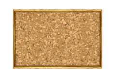 Corkboard With Wooden Frame Stock Photo
