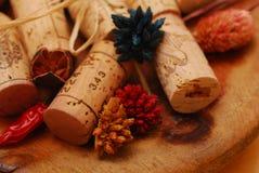 corks золотистая плита стоковые изображения