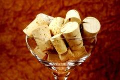 corks стекло Стоковое Изображение RF
