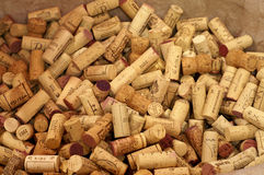 Corks. A lot of bottlecorks Royalty Free Stock Photo