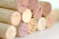 Corks. Still life object of champagne corks Royalty Free Stock Photos