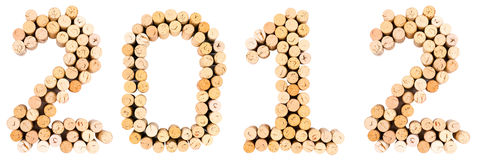 Corks 2012 Stock Photo
