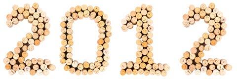 Corks 2012 Stock Photo