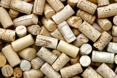 Corks. Close-up of a lot of corks Stock Photography
