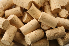 Corks!. Multiple corks in different positions Stock Image