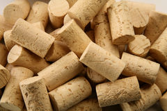 Corks!. Multiple corks in different positions Stock Photo