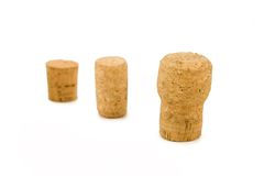 Corks. Bottle's corks of different size and shape Royalty Free Stock Image