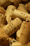 Corks. Winecorks Macroshot Stock Photo