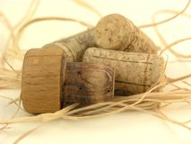 Corks. Various Corks Royalty Free Stock Image